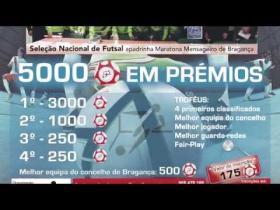 Maratona de Futsal Mensageiro de Bragança 2015 - Mário Freitas (Vídeo Promocional)