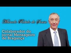 Marcelo Rebelo de Sousa dá os parabéns ao Mensageiro de Bragança em direto na TVI