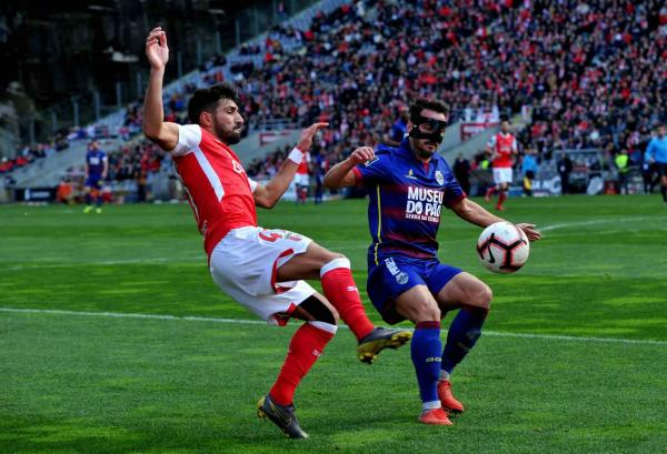 Braga Chaves: Pedreira Tremeu (SC Braga 2 GD Chaves 1)